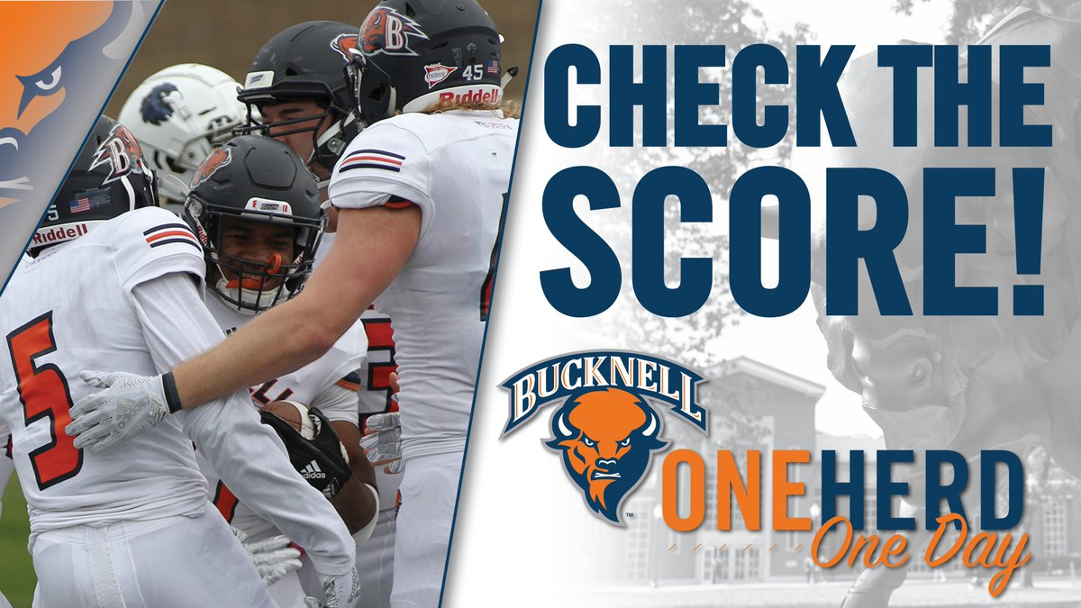 How are we doing in the #OneHerdOneDay giving challenge? Check in and see how we are progressing toward our goal of 2,019 donors! #rayBucknell #TheBisonWay
