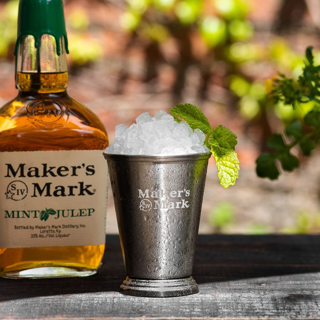 The easiest way to make a classic Mint Julep is back again. Don't miss out. Follow the link to the big green top: http://bit.ly/2InCI5O   #MintJulepMonth