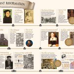 Image for the Tweet beginning: Protestant Reformation in a timeline