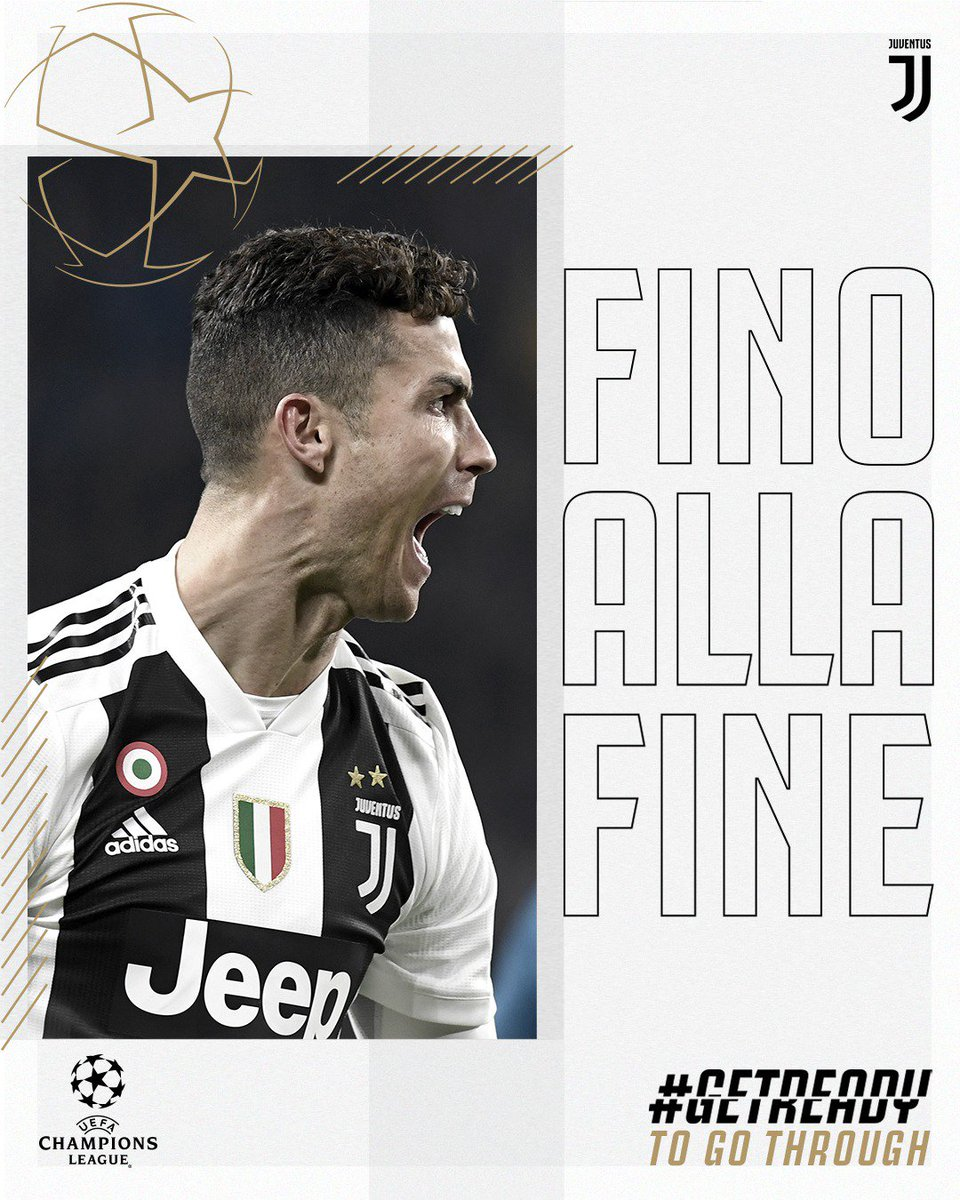 d0bd0880cef let s give it our all and getready to go through juveajax ucl finoallafine  forzajuve
