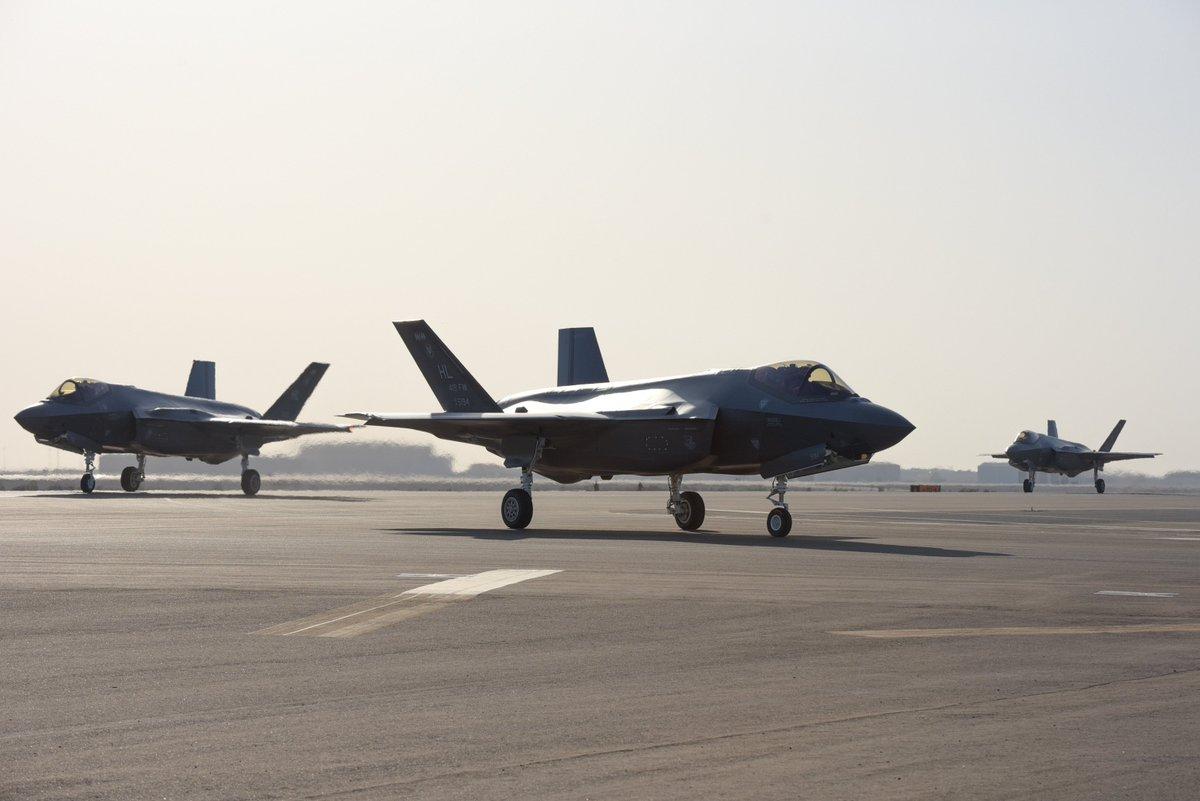 مقاتلات F-35 الأمريكية تصل الإمارات بأول مهمة بالشرق الأوسط D4Sc6GJXkAAjD7k