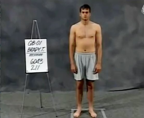 19 years ago today the @patriots took a chance on the guy in this photo: Me (199) . Thank you to EVERYONE who's helped me to prove them right!   Also, did they stop taking these photos after mine?? <br>http://pic.twitter.com/qxBoCc0F1H