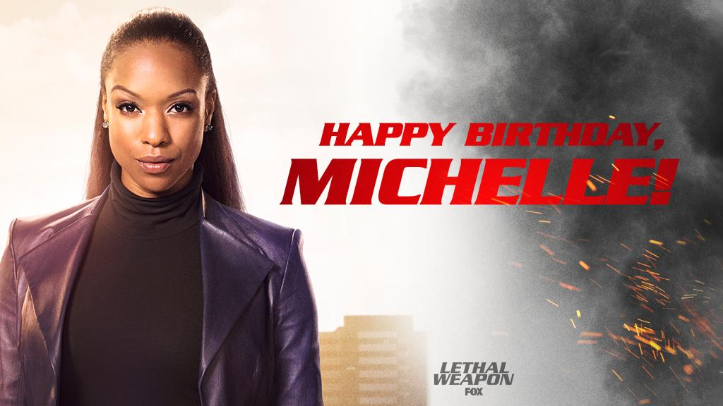 Join us in wishing our badass lady, @MMitchenor a Happy Birthday! 🎈🎉🎂 #LethalWeapon