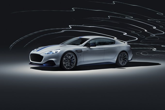 Top speed for Aston Martin…
