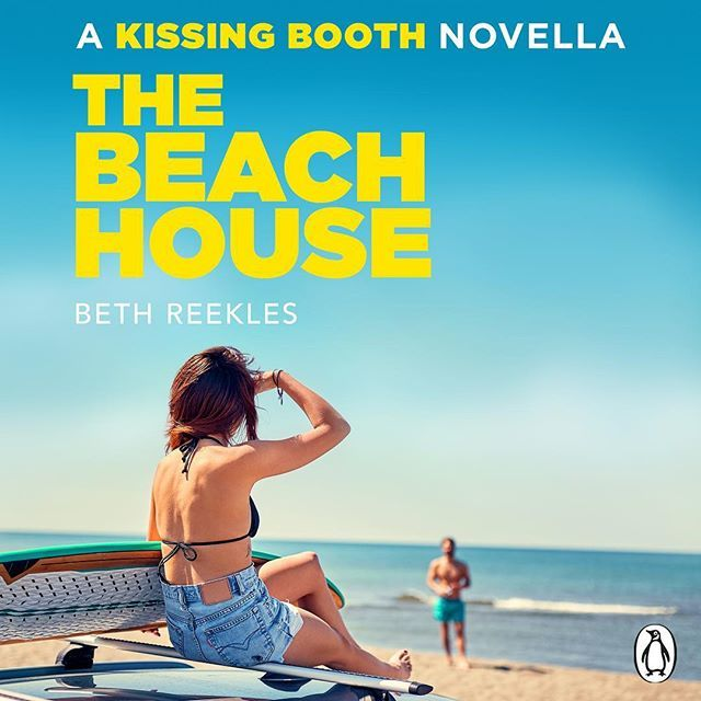 http://bit.ly/2XczMMA TA-DAH! The official cover for #TheBeachHouse, the spin-off novella to The Kissing Booth, out in ebook May 11th! 💋☀️