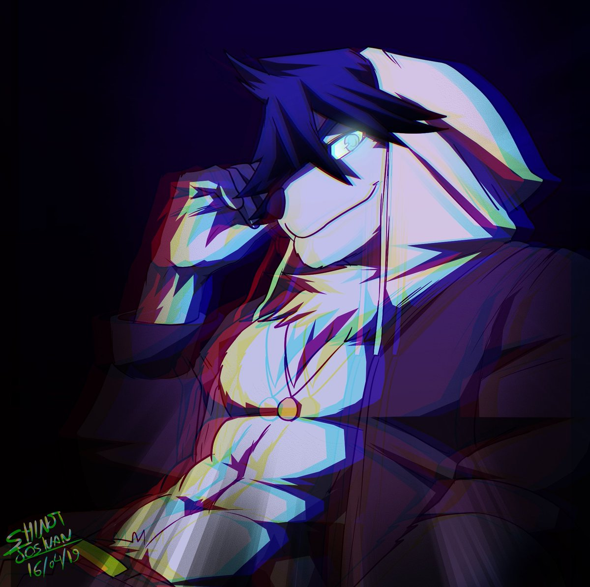 """""""Your mind is mine now, and I will do whatever I want with you!""""  #furry #furryfandom"""
