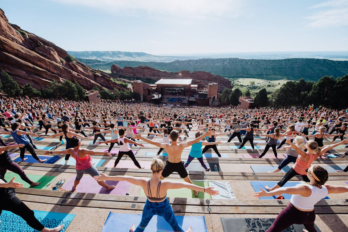 Red Rocks Park Amphitheatre On Twitter A Seventh Season Of Yoga A Third Season Of Barre And A Brand New Snowshape For Winter Sports Lovers Are Stepping Up For Fitness Enthusiasts