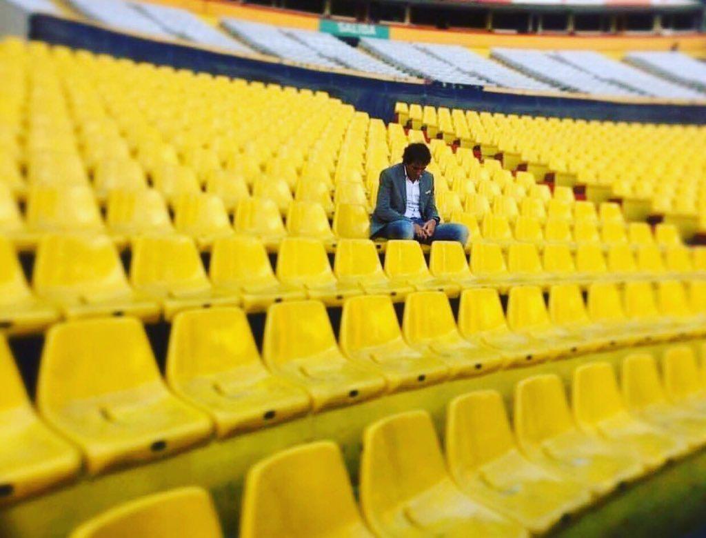 Almada representa a todos los barcelonistas que un día nos dimos cuenta que íbamos a dejar de ir todos los domingos al estadio, por diferentes circunstancias. @barcelonaSC 💛 #GraciasAlmada #Barcelona #BarcelonaSC #Guayaquil #Ecuador
