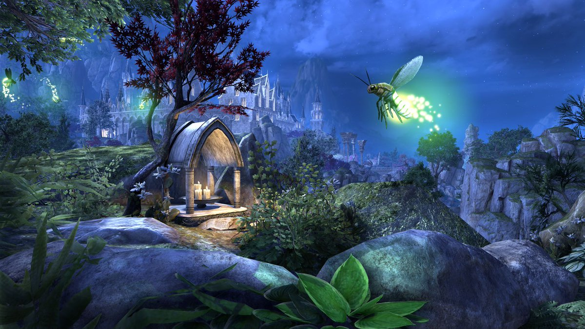 To celebrate #Elsweyr coming to PTS, we're doing an extra special #TorchBugTuesday this week! 😱  We're giving away both Torchbug pets and Summerset coins. Usual rules apply: All platforms/servers are eligible. Retweet to enter. Winners will be picked 4/17 at 3 pm EDT.
