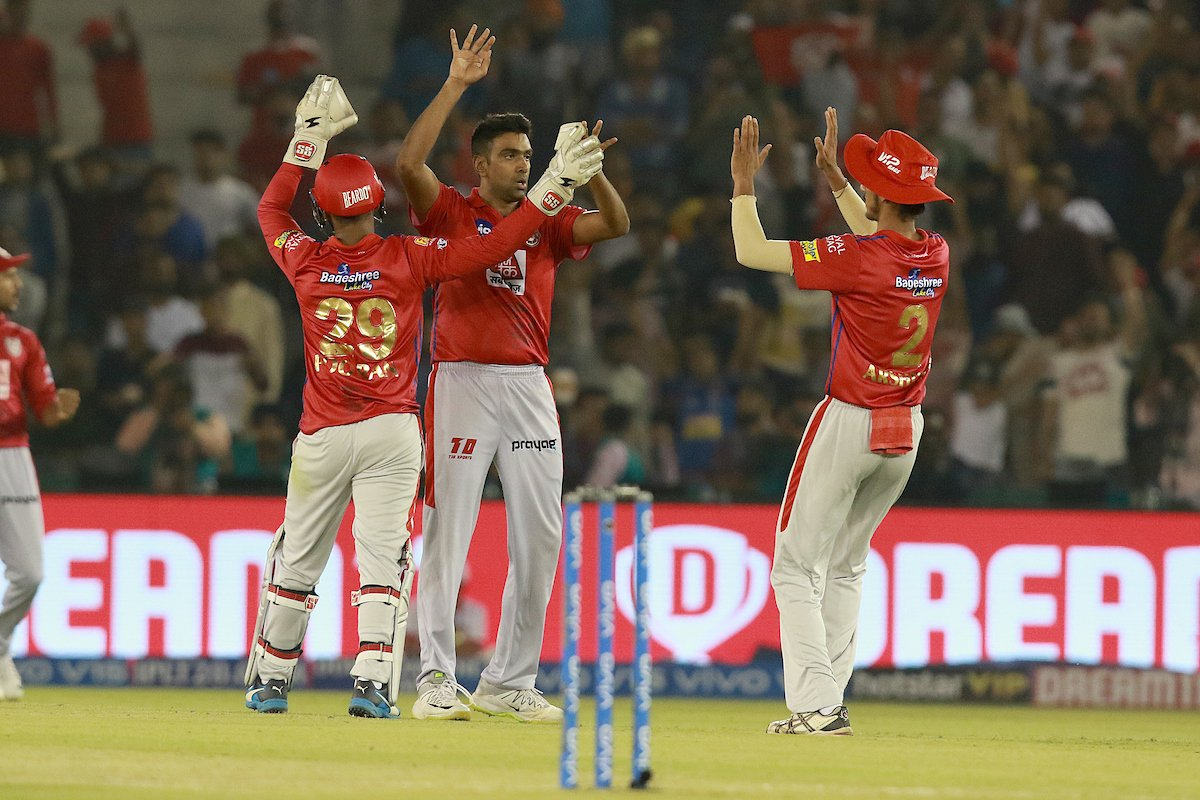 #KXIPvRR - KXIP won by 12 runs in a close encounter