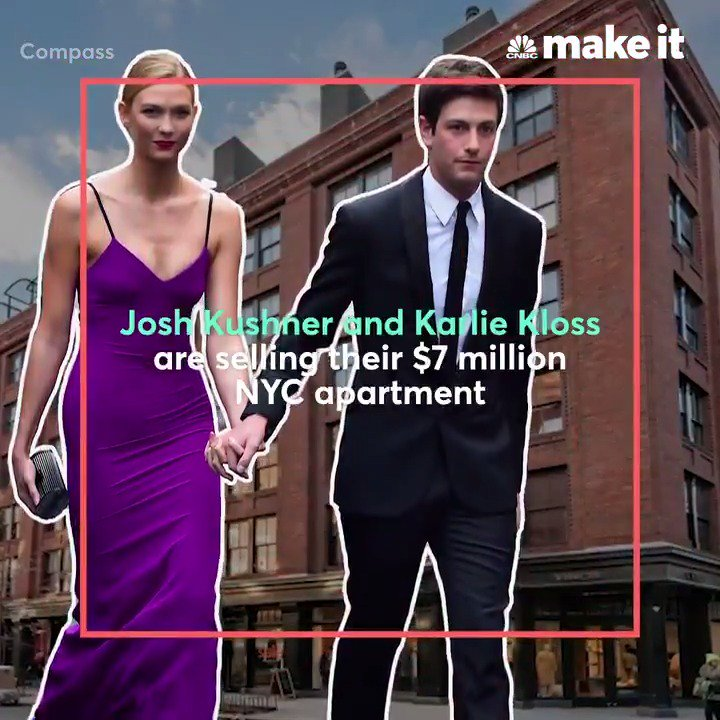 Josh Kushner and Karlie Kloss are selling their $7 million NYC apartment — take a look inside: https://t.co/ifOcZX2rDo https://t.co/Sj9Ad2x2bw