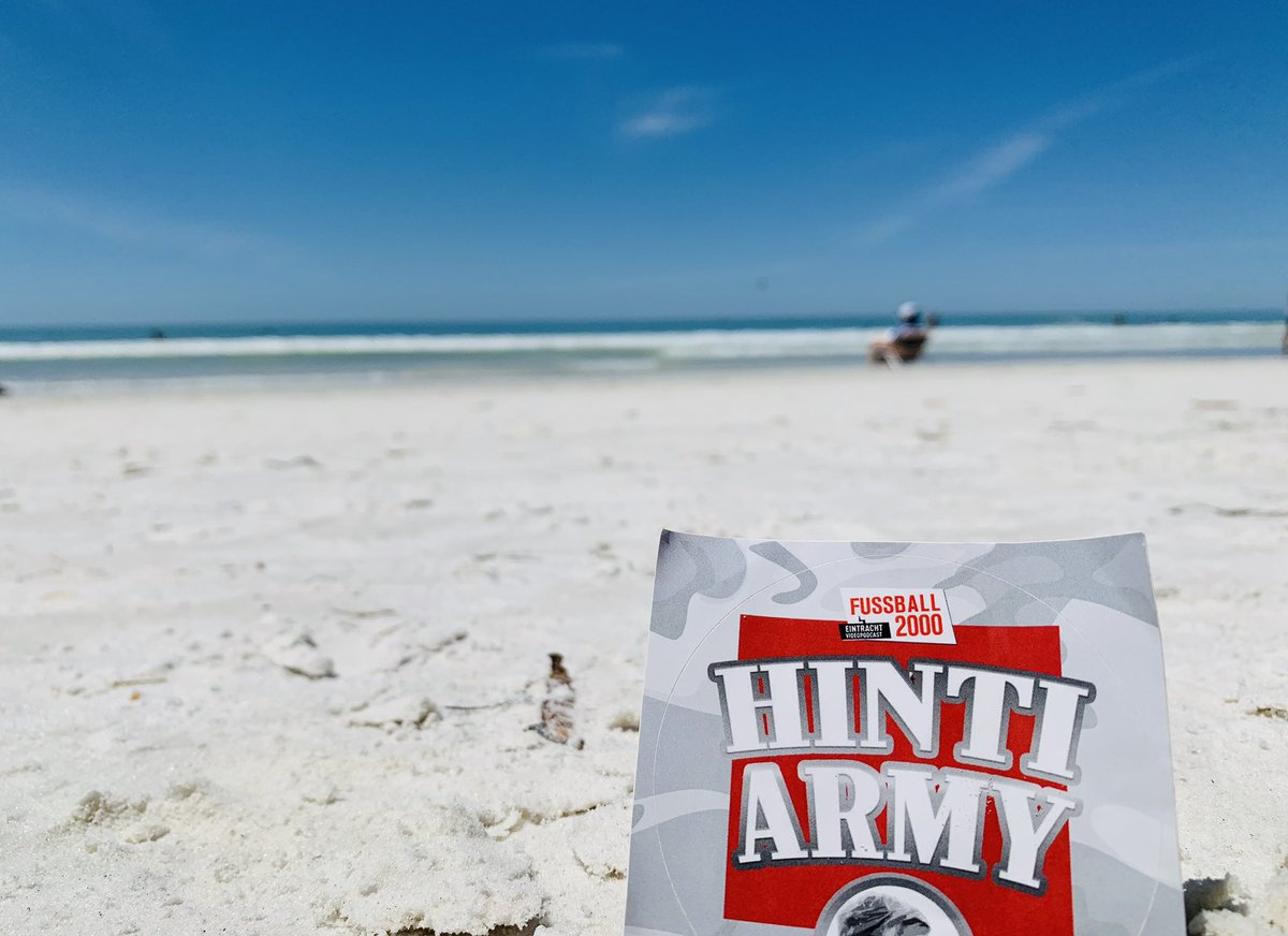 #hintiarmy @FUSSBALL_2000 – at Siesta Key Beach