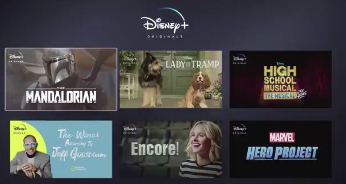 Star Wars, Marvel, Disney, National Geographic, and Disney Channel. These are the franchises of #DisneyPlus.<br>http://pic.twitter.com/sSaiE5GexL