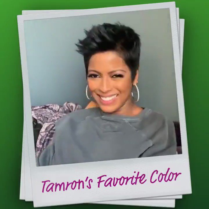 Learn all about @TamronHall's favorite things in our new video series! Did you guess her favorite color? #TamFam