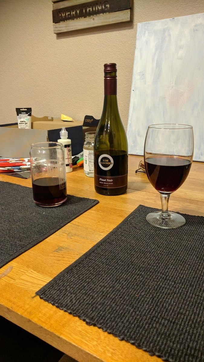 Wine, crime and art with a friend. Episode 80, art theft. Totally fitting! @WineandCrimePod #WineandCrime #WineCoven #pinotnoir