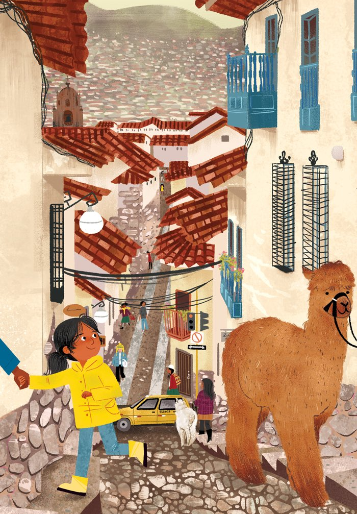 Wishing I was back in Cusco, Peru right now! #kidlitart <br>http://pic.twitter.com/LzXLa44LTF