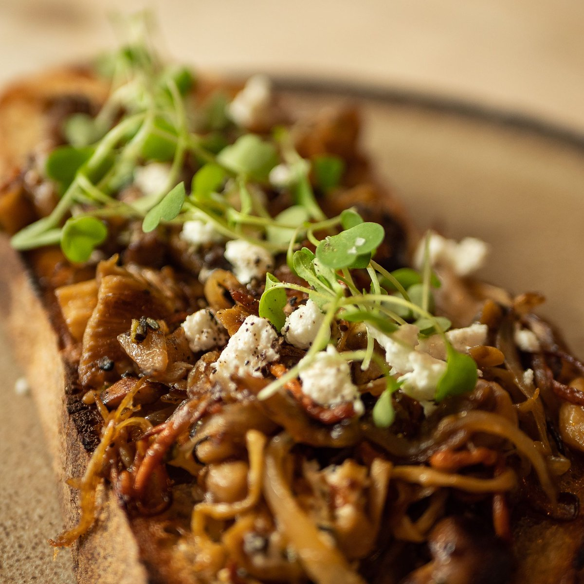 Check out this weeks Spinningfields special... Wild mushrooms on in-house baked sourdough 🔥 Available until next Tuesday!