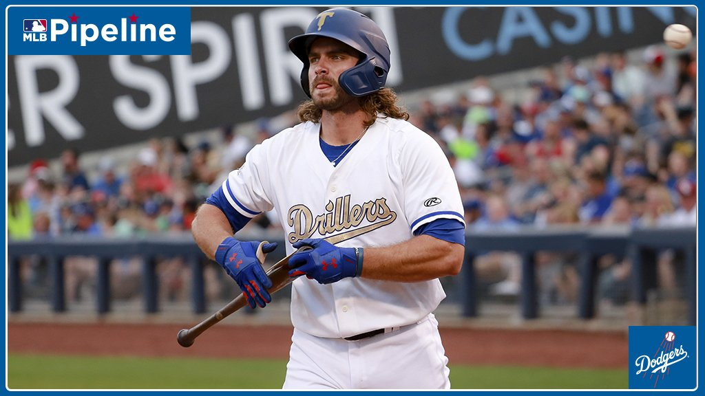 You may hear this a bunch of times this year: DJ Peters has launched a homer.  This is the first of the season for the #Dodgers' No. 10 prospect, who went deep 29 times in 2018.  @Dodgers prospect stats: https://atmlb.com/2GB007M