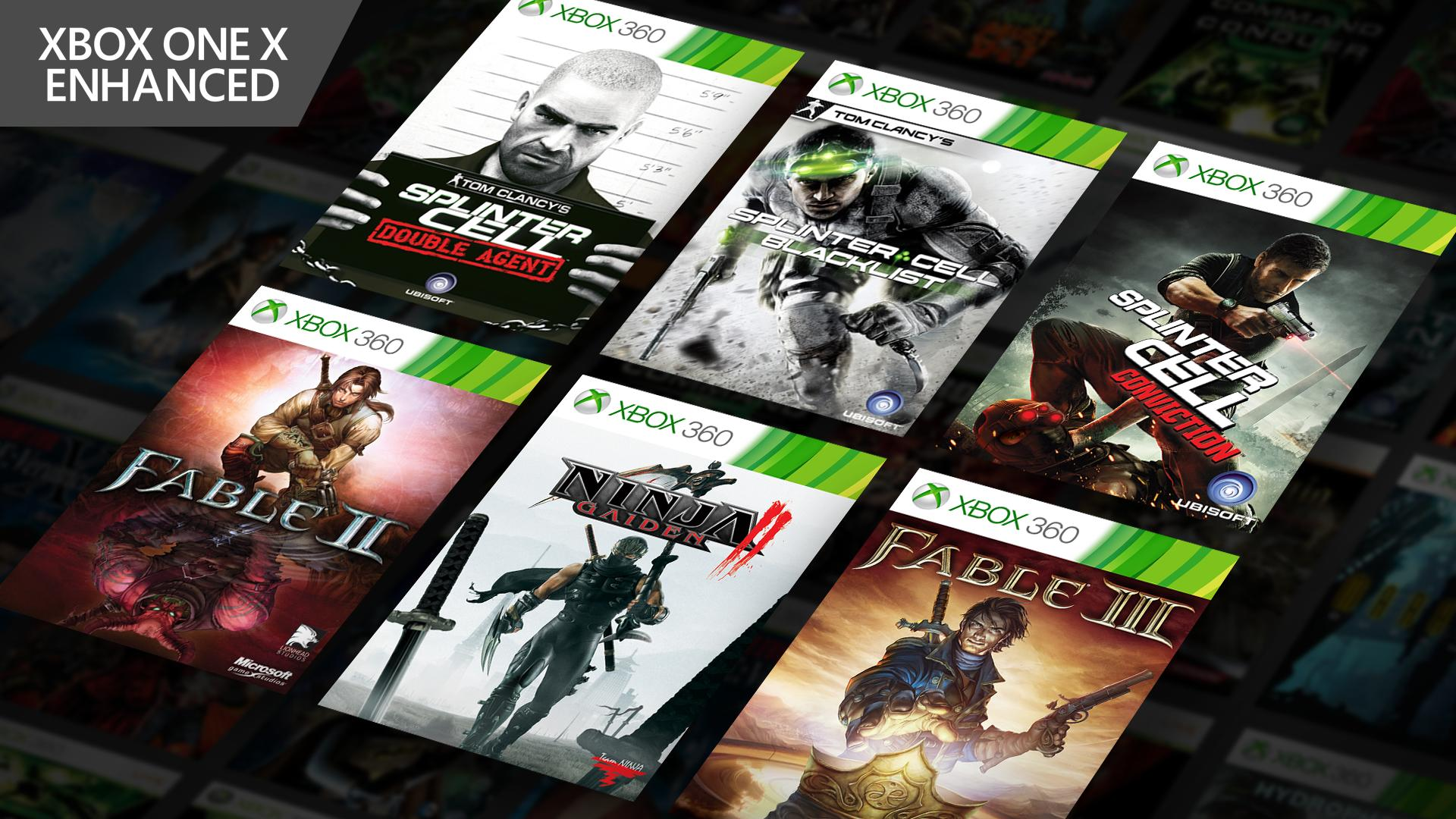 Xbox On Twitter Which Newly Enhanced Xbox 360 Game Are You