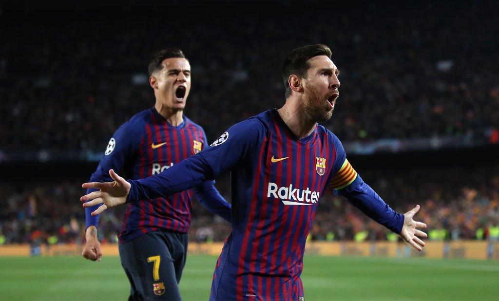Con un doblete de Messi, Barcelona se metió en semifinales de la Champions League al vencer 3-0 al Manchester United (Video) D4TJ2zLXoAMx8_3