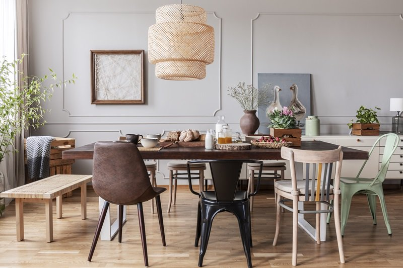 Mix And Match Dining Room Chairs For An