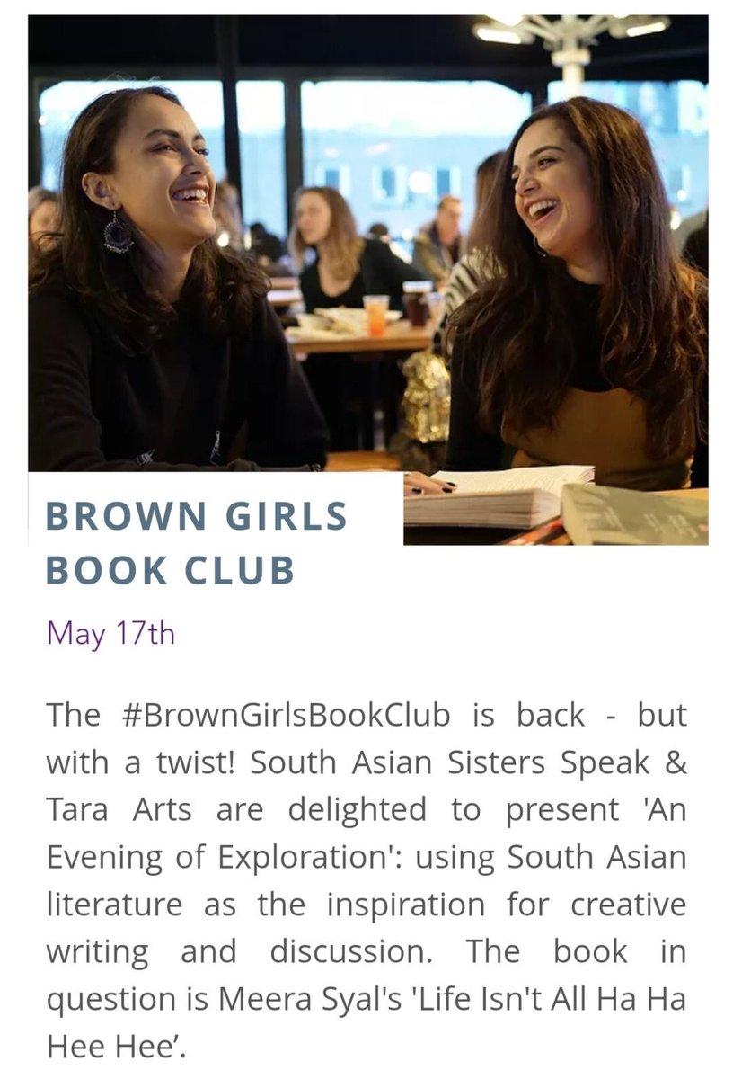 6791504c792c72 ... to  MeeraSyal s work https   www.tara-arts.com whats-on brown-girls-book -club-an-evening-of-exploration …  londoneventspic.twitter.com csdx0xn8fj