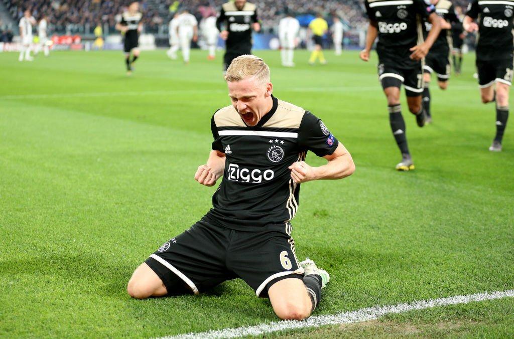 Sorpresa en Turin, Ajax se metió en semifinales de la Champions, le ganó 2-1 a Juventus y dejó afuera al equipo de Ronaldo y Dybala (Video) D4TMW_-W4AA1JYm