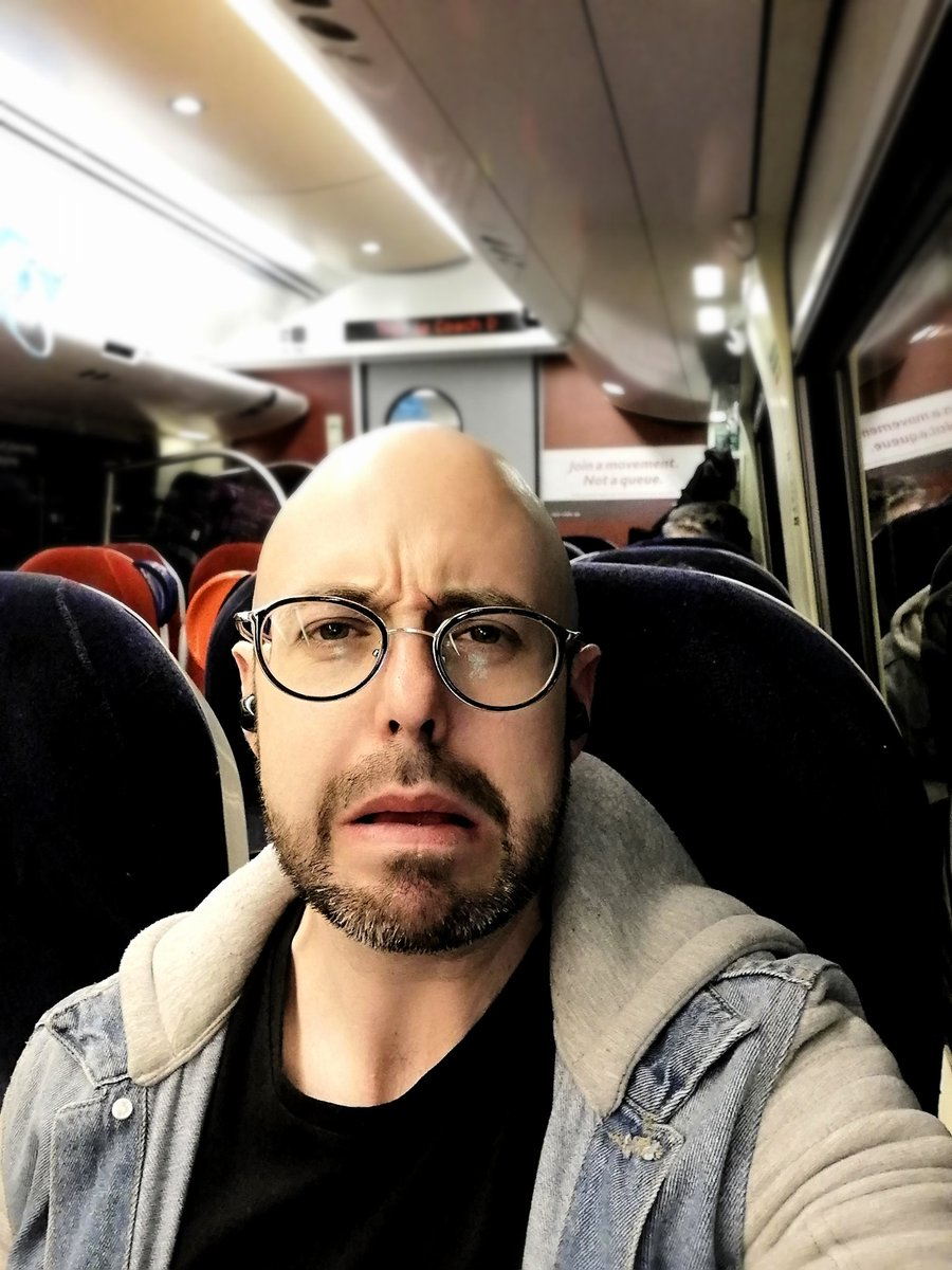I&#39;M SORRY TRAVEL GODS  For whatever I have done to offend thee. Berlin Airport 6 hour delay  Wrong train at platform 2 hour round trip  Sat on new train stuck in a tunnel until the track can be fixed  Travelling back from #TwitchConEU can be dangerous for your health.<br>http://pic.twitter.com/T77d3QrDN0