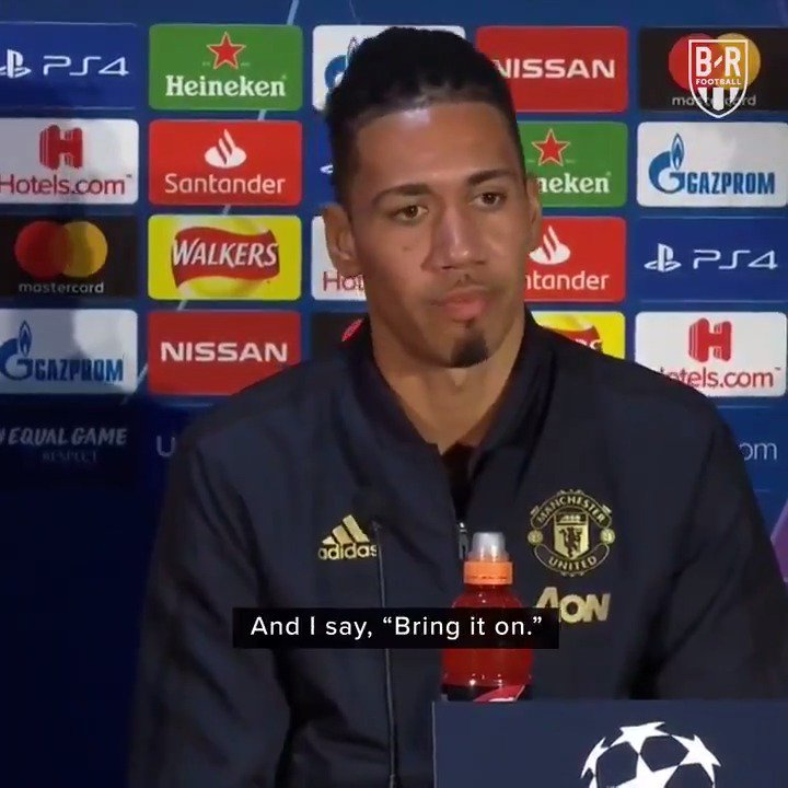"United 0-1 Barcelona Barcelona 3-0 United  ""Bring it on"""