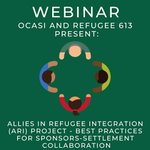 Image for the Tweet beginning: Questions about #refugee sponsors-settlement collaboration?