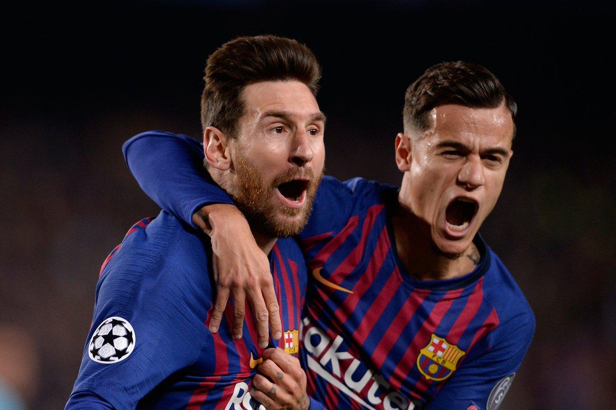 أهداف مباراة برشلونة ومانشستر يونايتد (3-0) - دوري أبطال أوروبا