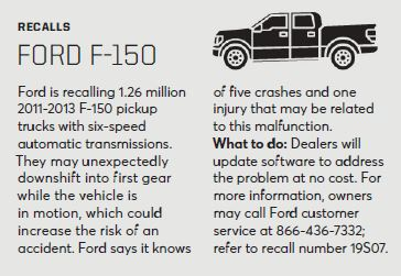 Can software kill? Can we ever trust self-driving cars?  Answer: Software was found to be at fault in the two deadly 737 Max crashes. The latest issue of Consumer Reports carries info on a recall of 126 million Ford F-150s -- to prevent crashes due to a software fault.