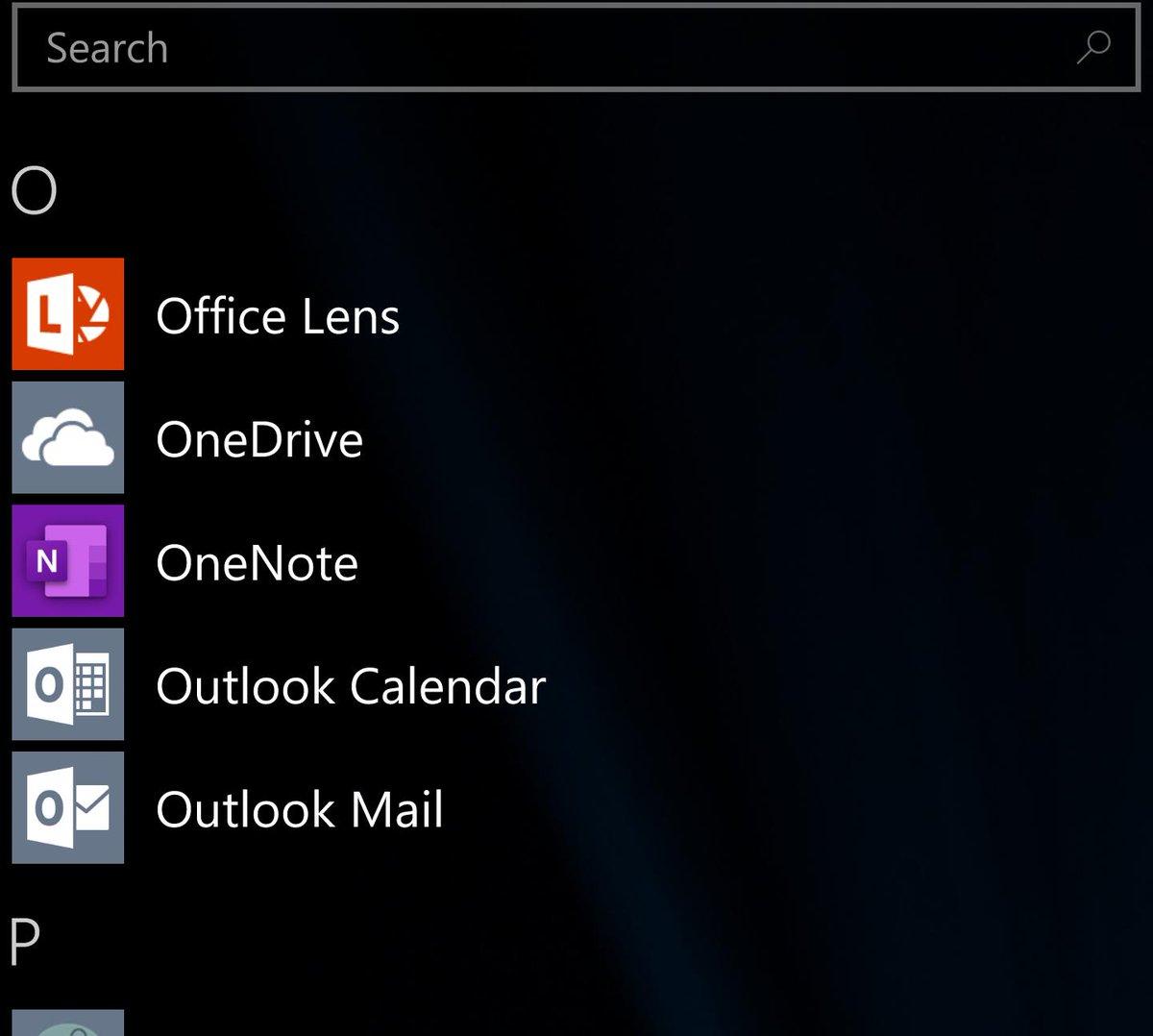 Omg new onenote icon on #Windows10Mobile #w10m #hpelitex3