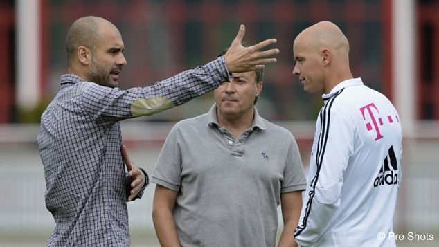 The Pep On Twitter Pep And Current Ajax Coach Erik Ten Hag
