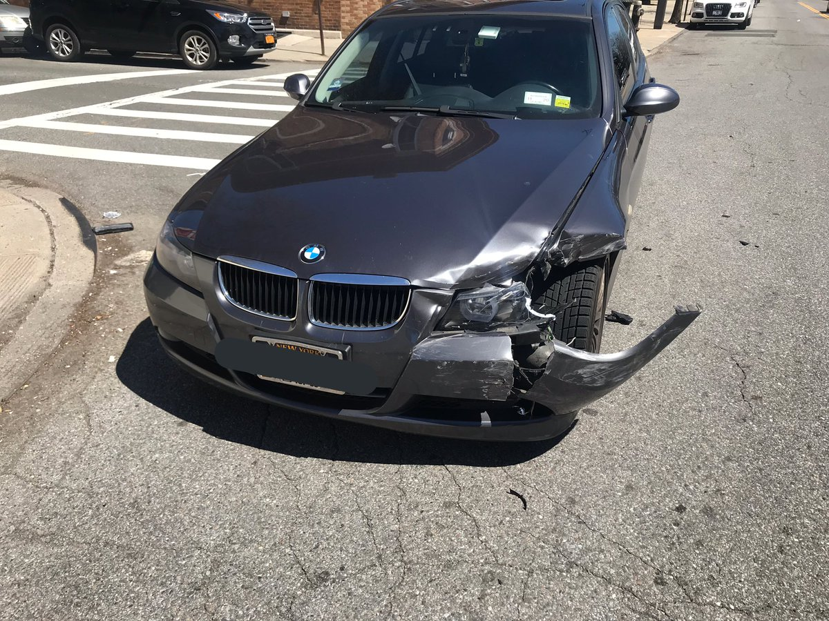 RT for good luck or else you'll end up in a car accident this week like I did today