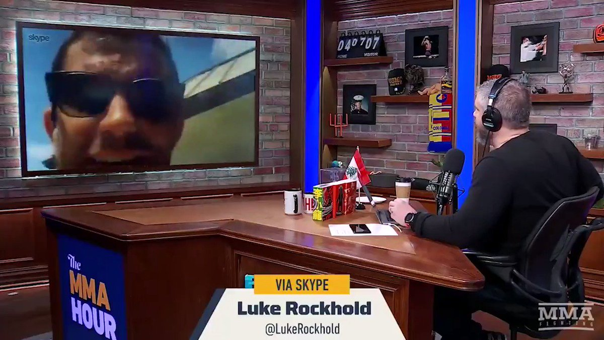".@LukeRockhold will only entertain a fight against Anthony Smith if ""he defies exceptions"" against Alexander Gustafsson at #UFCStockholm  Watch full interview from #TheMMAHour: https://www.mmafighting.com/2019/4/16/18311971/no-longer-brittle-at-185-pounds-luke-rockhold-confident-he-is-the-man-to-dethrone-jon-jones …"