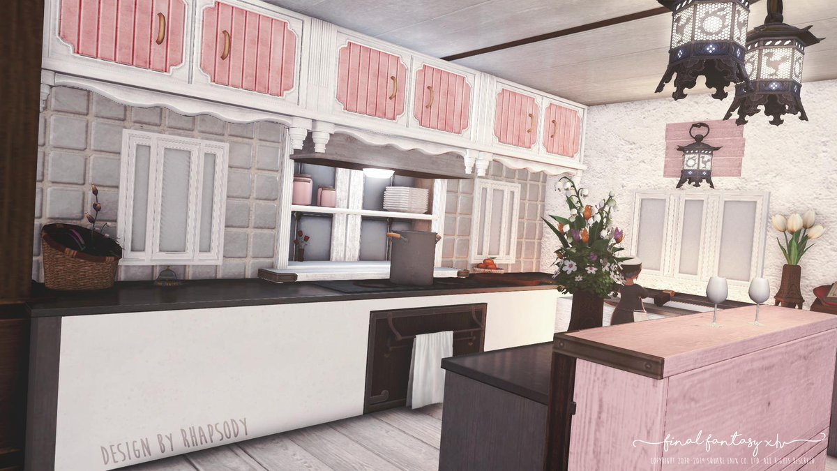 Hgxiv The Ffxiv Housing Podcast On Twitter Upgrade Your Kitchen With Smooth Granite Countertops This Sleek Modern Look Will Have Your Friends Begging To Know How You Pulled It Off Though