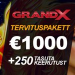 Image for the Tweet beginning: #GrandX uus tervituspakett: suurem, parem