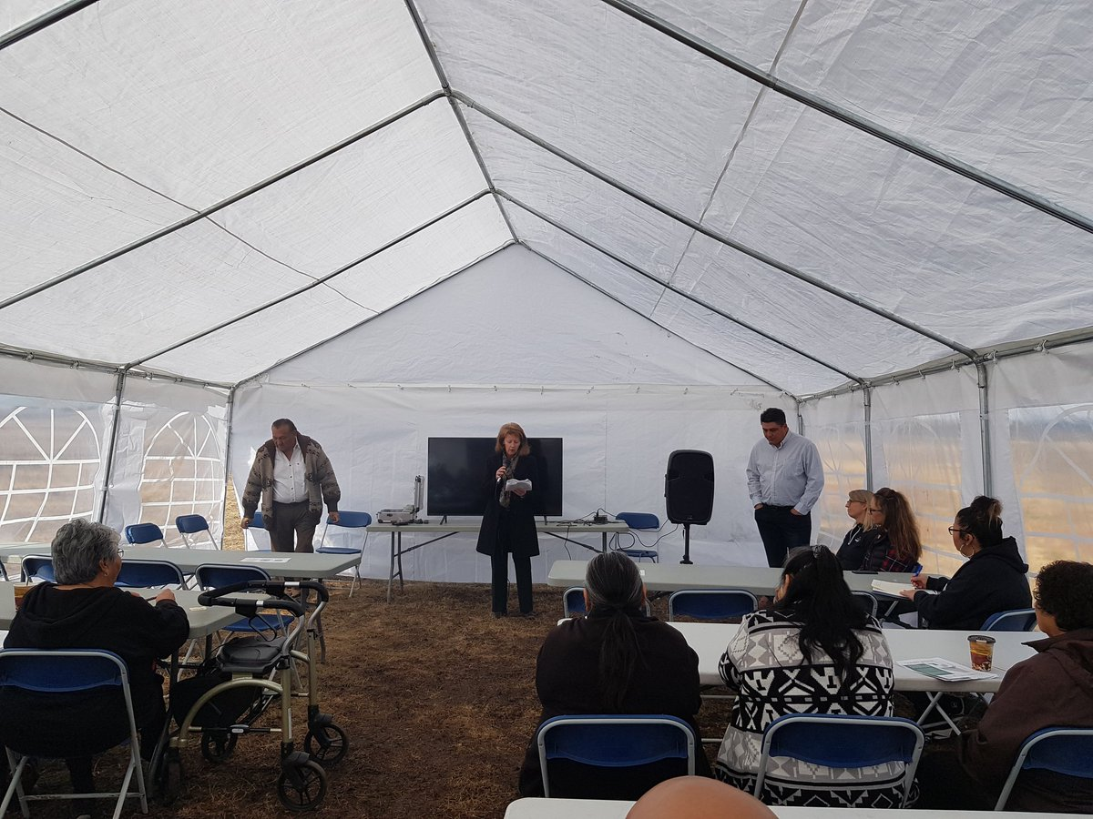 Honoured to attend a ceremonial prayer and blessing today at the CKPC site performed by an Elder from Alexander First Nation! #Pembina/#CKPC are committed to partnering with Indigenous communities! Councillor @sevans_county brought greetings on behalf of @SturgeonFYI.