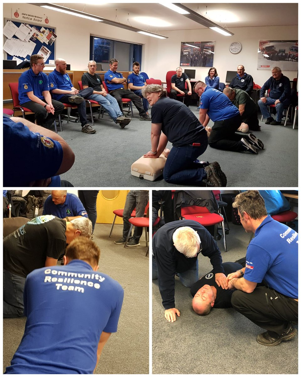 #FirstAid skills helping to make our volunteers more #resilient, less reliant on emergency services and able to assist in #communities