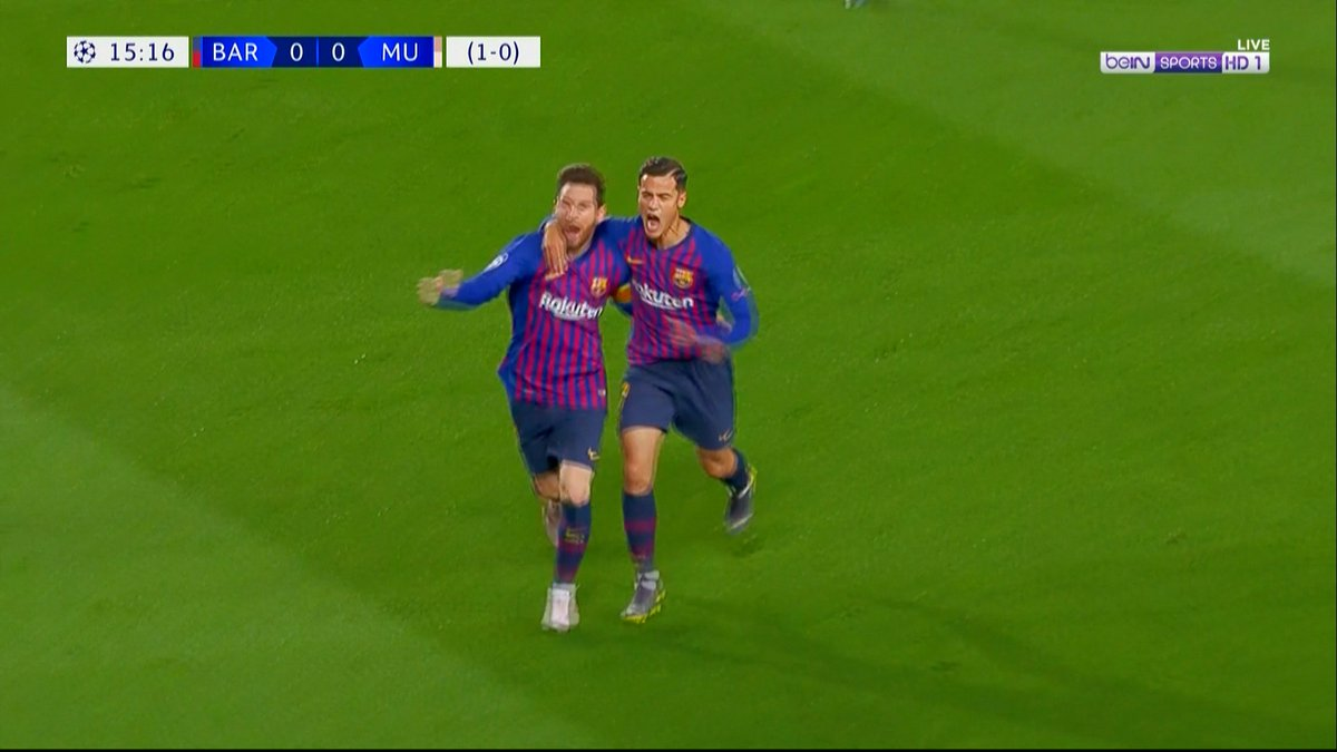 ملخص كامل لـ سهرة الكامب نو 😍!  إياب دور الـ8 ، دوري الابطال Man United 0 × 3 Barcelona تعليق عصام الشوالي HD  مشاهدة ممتعه لـ الجميع 😍❤️. #UCL