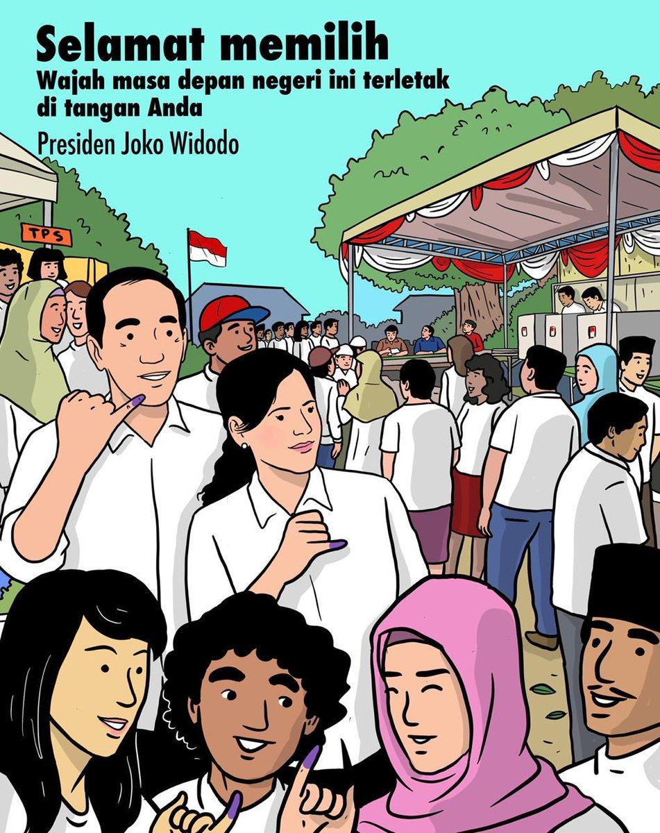 Selamat memilih, Indonesia 🇮🇩