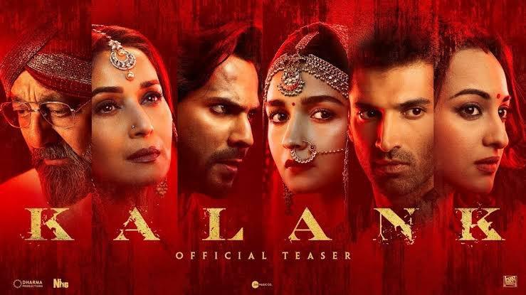 All the love for the big release today #Kalank ❤️💥🙌🏼 @karanjohar @DharmaMovies @foxstar @NGEMovies @abhivarman  @Varun_dvn @aliaa08 @sonakshisinha #AdityaRoyKapoor @MadhuriDixit @duttsanjay @apoorvamehta18