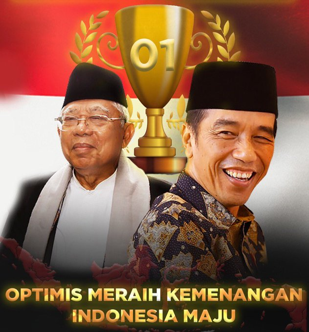 #JokoWinElection Photo