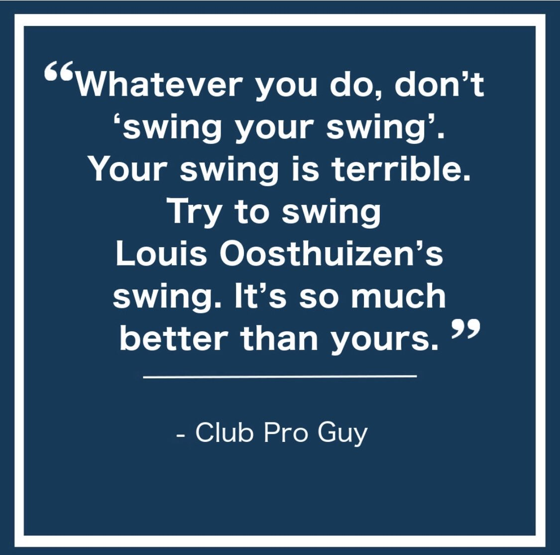 Club Pro Guy's photo on #TuesdayThoughts