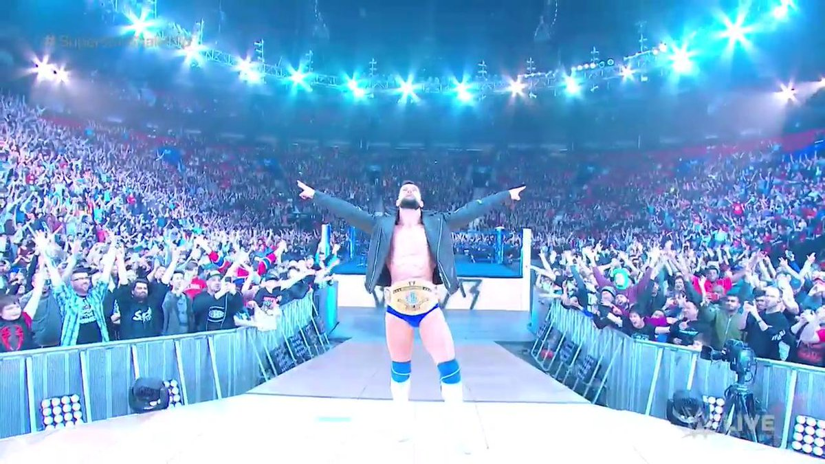 Top Champion Brings His Title To WWE SmackDown In The Superstar Shakeup
