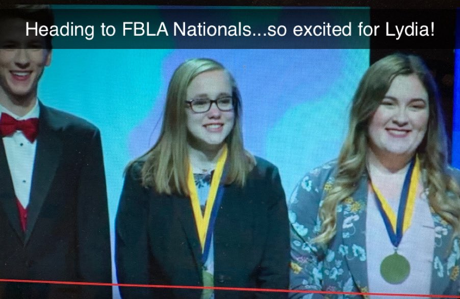 Exciting day for Clinton FBLA state qualifiers! Proud of these leaders and especially proud of Lydia! She will be heading to National competition in Intro to FBLA! Look out San Antonio, TX...Clinton,MO is coming in June! #CardinalPride @CHSCards @ClintonMoCards