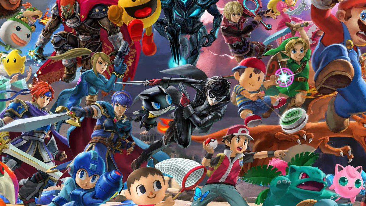 Image result for super smash brothers ultimate joker mural
