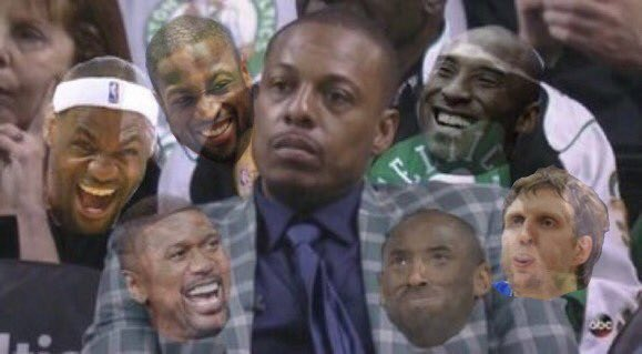 Idk how but another L for Paul Pierce