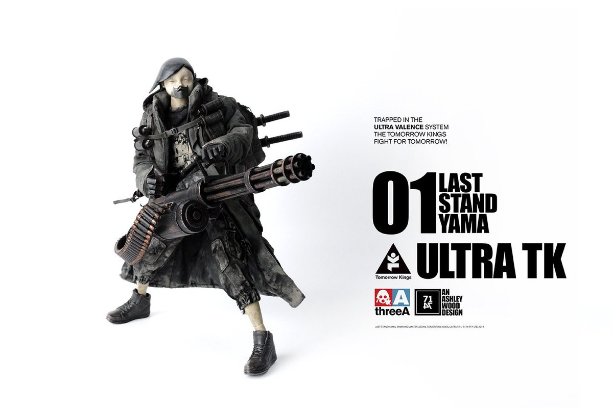 3A ThreeA Tomorrow Kings MASTER 5-1//6 Action Figure POPBOT by Ashley Wood
